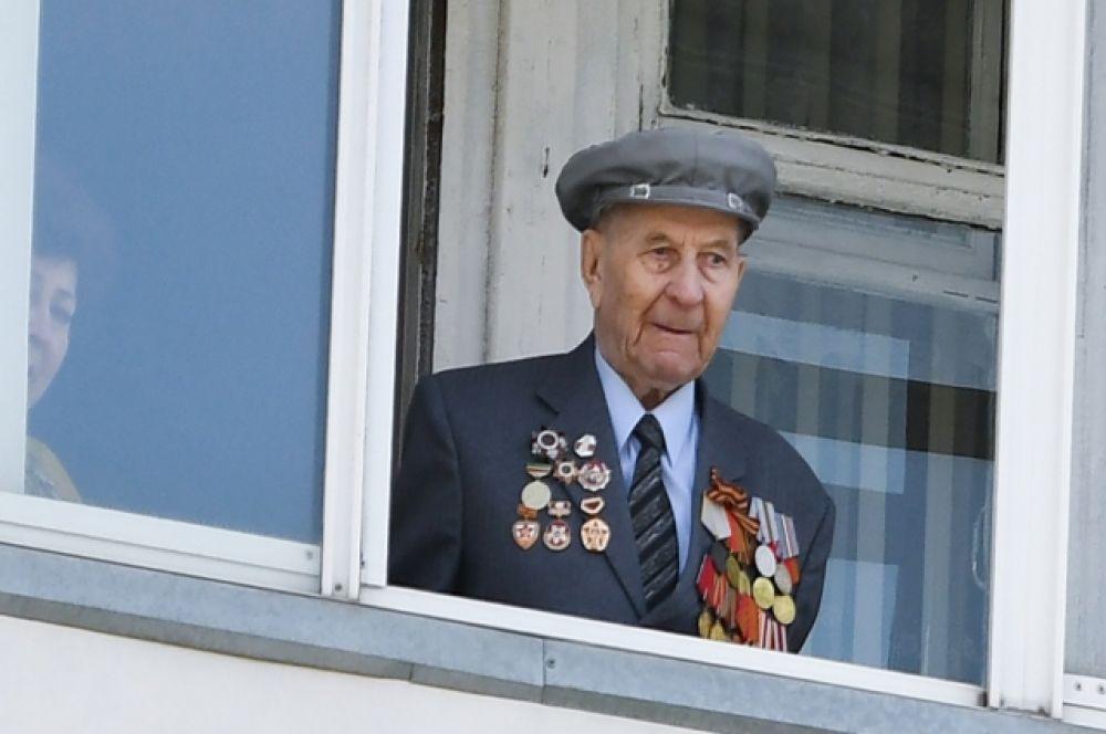 Ветеран войны Илларион Федорович Ляпустин участвовал в разгроме немецких войск в Румынии.