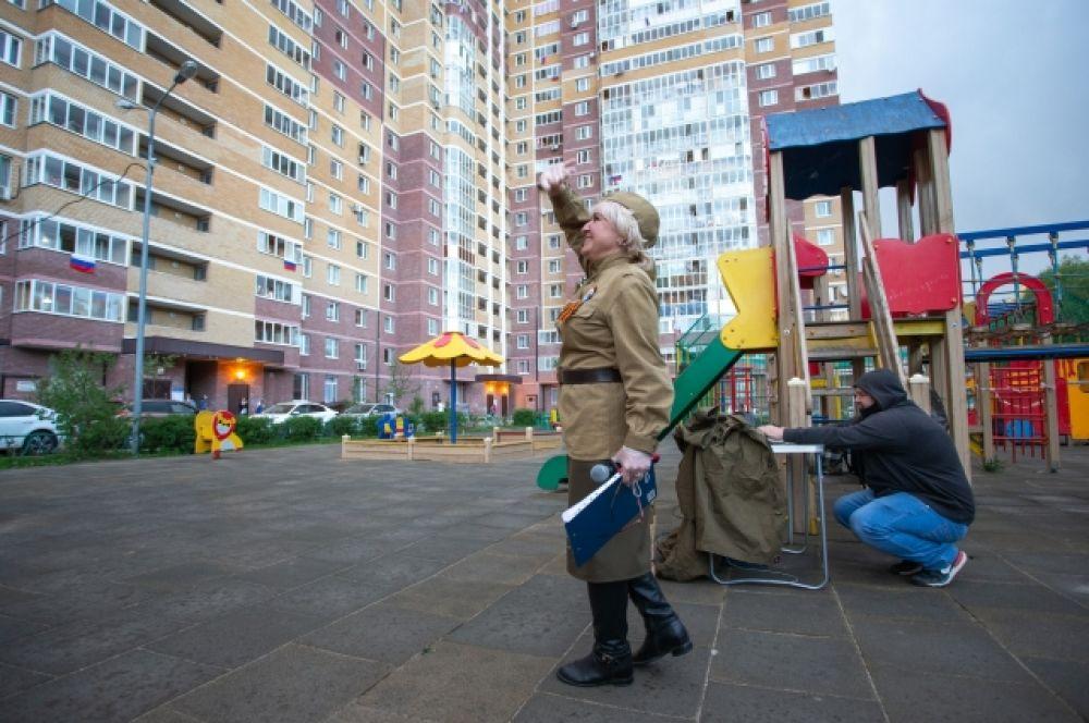 Казанцы присоединились к акции #ПоемДвором.