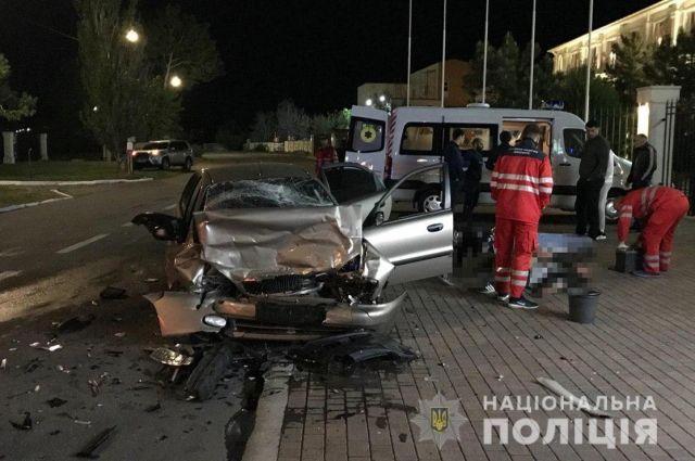 В Запорожской области произошло ДТП: два человека погибли на месте
