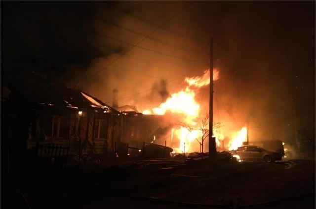 ричиной пожара стало нарушение правил монтажа электрооборудования.