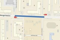 В Тюмени 18 мая перекроют движение по участку улицы Максима Горького