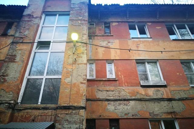 Жилые дома на поселке ЧГРЭС строились во времена первых пятилеток.