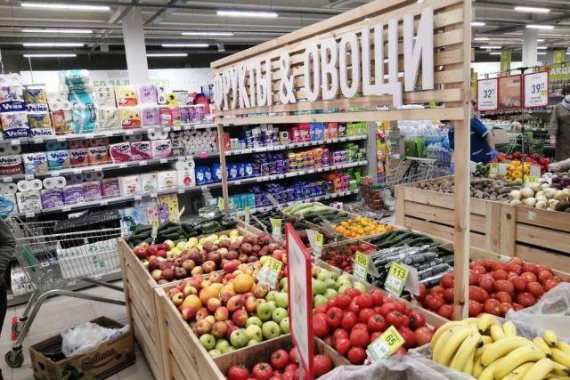 Овощи и фрукты всё ещё в открытом доступе.