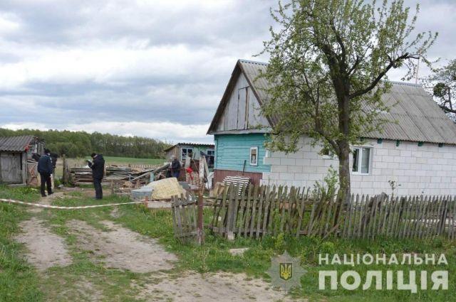 В Волынской области гость пытался зарезать хозяина