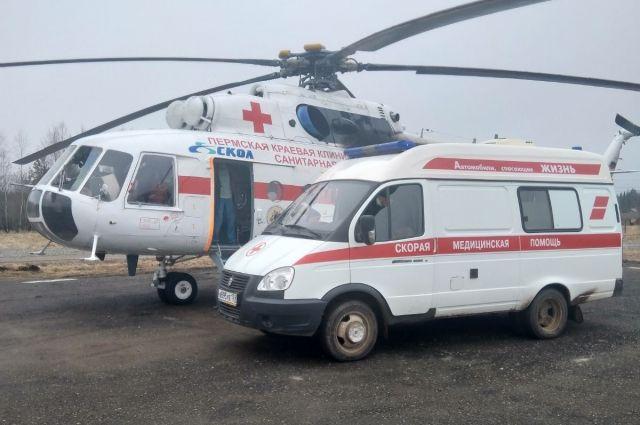 Также в Пермь из Чайковского доставили пациентку с коронавирусом.