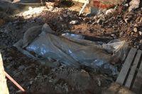 В Спасской церкви обнаружены останки предположительно купца Текутьева