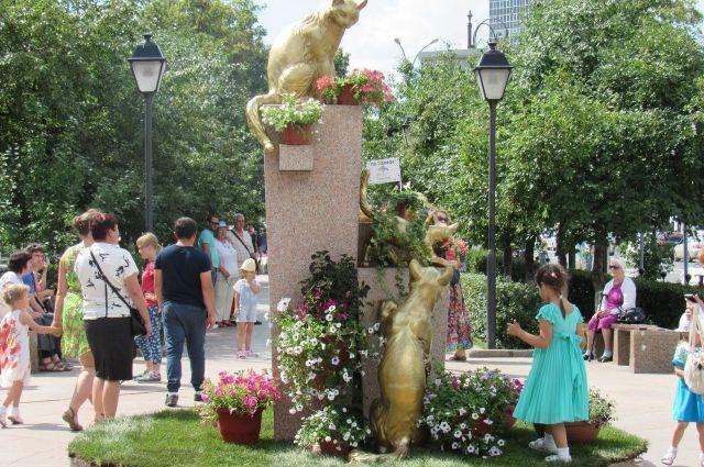Сквер сибирских кошек (архив)