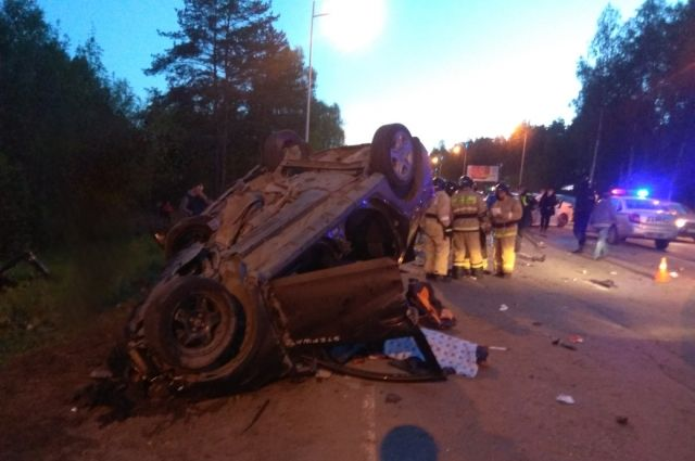 Один человек погиб и семь пострадали в ДТП на трассе «Ижевск-Аэропорт»