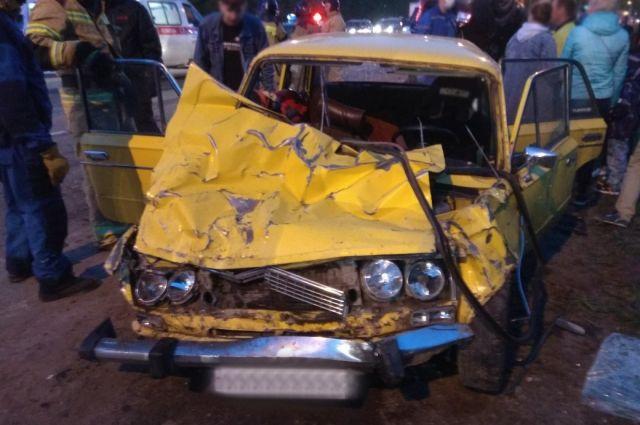 Массовая смертельная авария на трассе «Ижевск-Аэропорт» 14 мая
