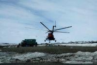 Командир вертолёта, увидев правоохранителей, дал команду на взлёт