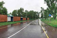 К концу июня в Татышев-парке планируется поставить новые павильоны проката.