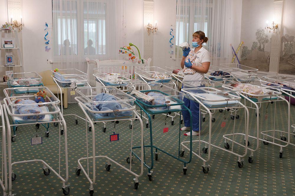 Новорожденные в отеле «Венеция» в Киеве.