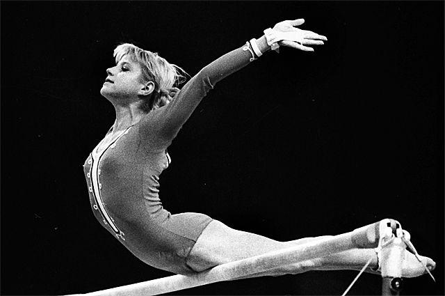 Ольга Корбут, 1973 год.