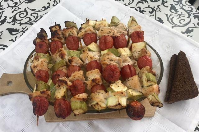 Овощи и мясо - идеальное весеннее сочетание.