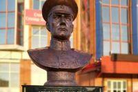 Бюст Александра Колчака стоял на улице Мира, 24 в Стерлитамаке