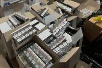 В Донецкой области нашли партию алкосуррогата и сигарет на 1,5 млн гривен