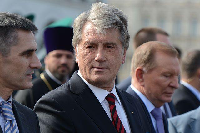 Виктор Ющенко, 2014 г.