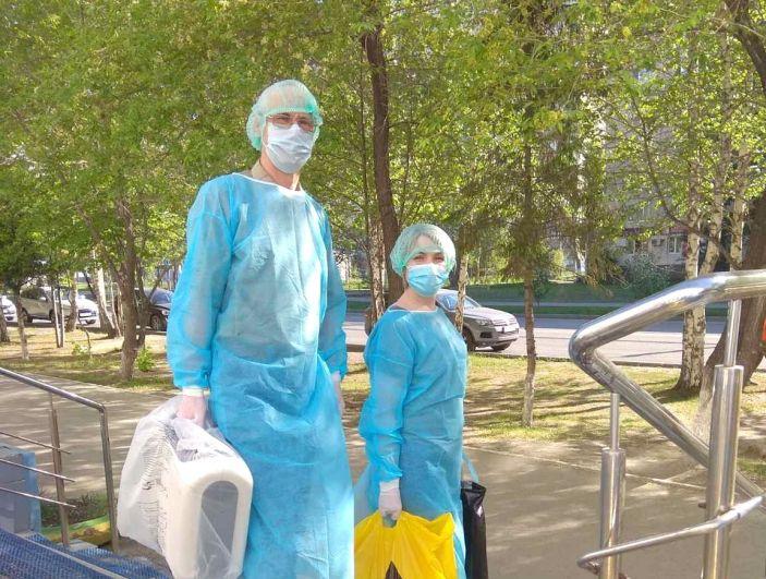 Врачи педиатрического отделения городской поликлиники №1.