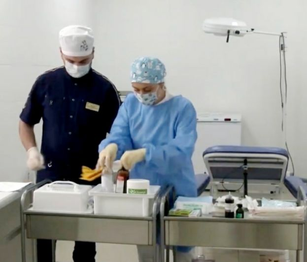 Врач-хирург городской поликлиники №17 Владимир Маргарян.