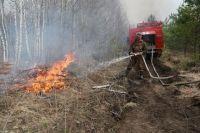 94% пожаров ликвидируются в первый день.