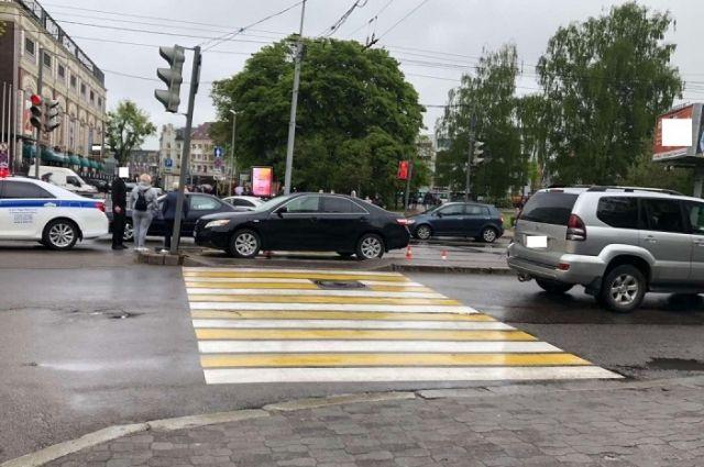 В Калининграде под колёса попал пешеход-нарушитель