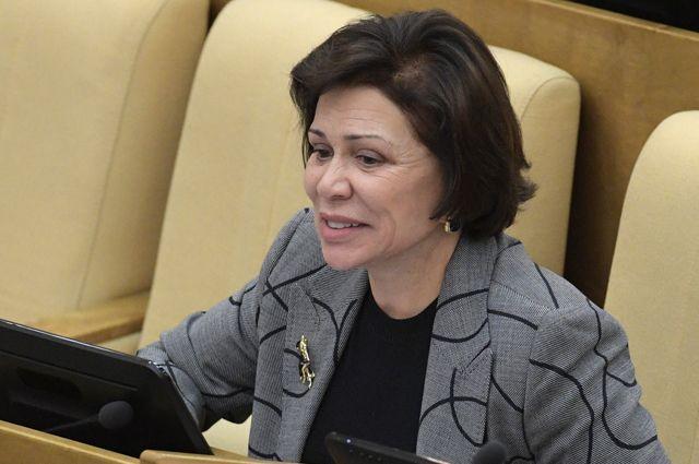 Заместитель председателя комитета Государственной думы РФ по международным делам Ирина Роднина.