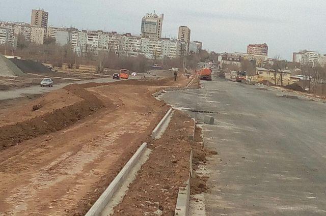 Так выглядела ул. Уральская 22 октября 2019 года.