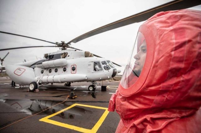 В Черновицкой области круглосуточно будет дежурить санитарный вертолет