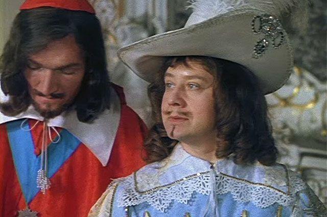Олег Табаков в роли короля Людовика XIII, «Д'Артаньян и три мушкетёра», 1978 г.