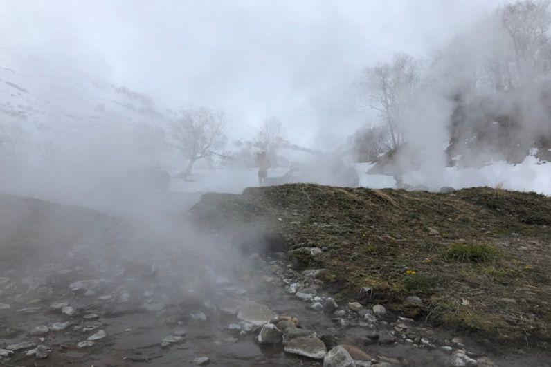 Карымшинские горячие источники.