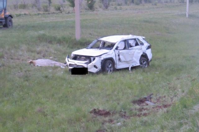 На орской трассе разбился 18-летний водитель.