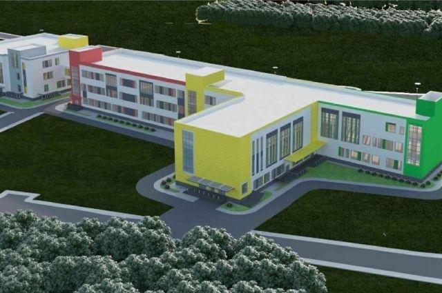 Школу построят в рамках национального проекта «Образование».