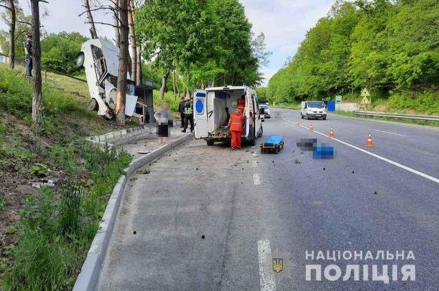 В Винницкой области легковушка вылетела с трассы и сбила насмерть пешехода