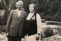 Мария Прокопьевна и Константин Холхоевич познакомились уже после войны.