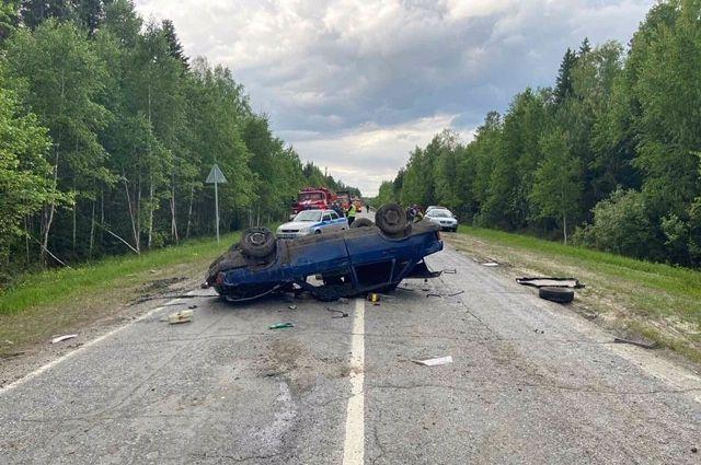 В ДТП на тюменской трассе погибла пассажирка автомобиля «Лада»