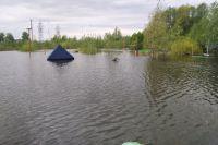 Максимальный приток воды в Камское водохранилище составил 13100 м3/с, что превышает среднегодовой максимум примерно на 30%.