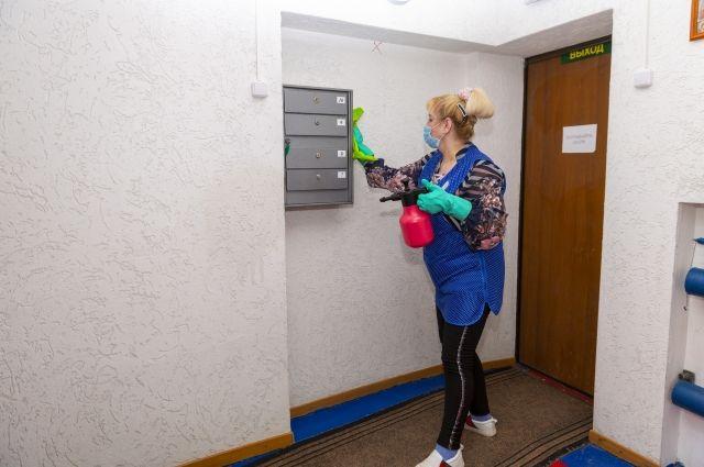 В Салехарде идет массовая санобработка в жилых домах