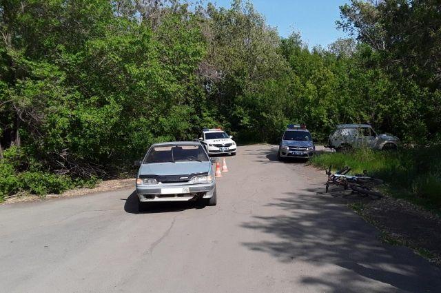 В Орске в ДТП пострадал 11-летний велосипедист.
