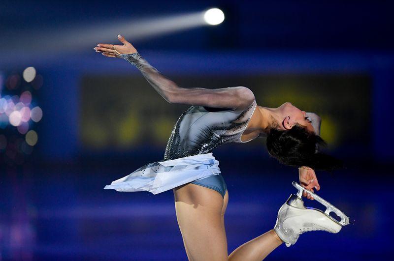 Алина Загитова в финале Гран-при по фигурному катанию 2019/2020.