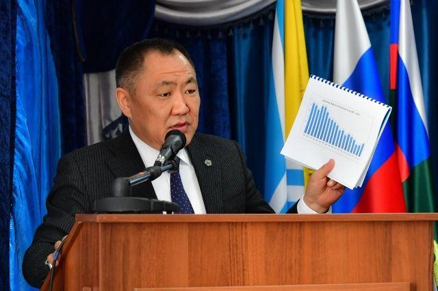 Глава Республики Шолбан Кара-оол будет руководить территорией из больничной палаты.