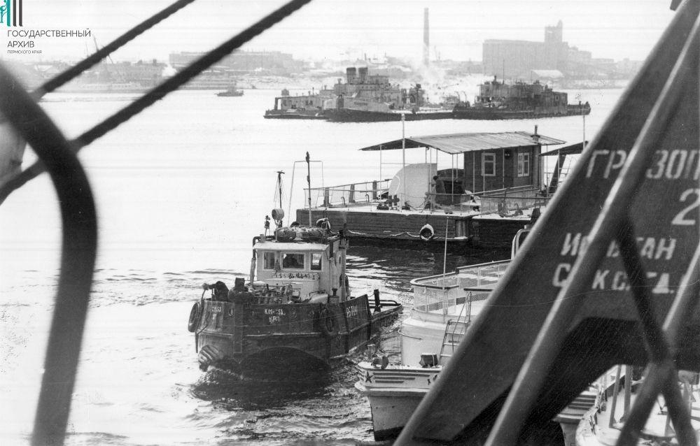 Навигация на Каме, Пермь.1977 год.