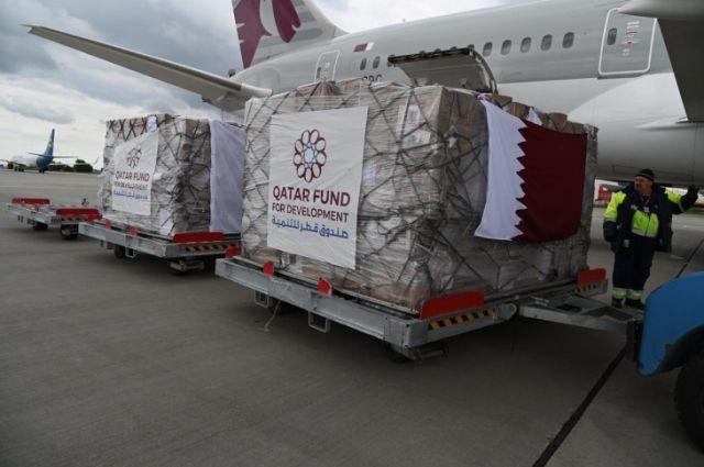 Катар прислал гуманитарную помощь медикам Украины