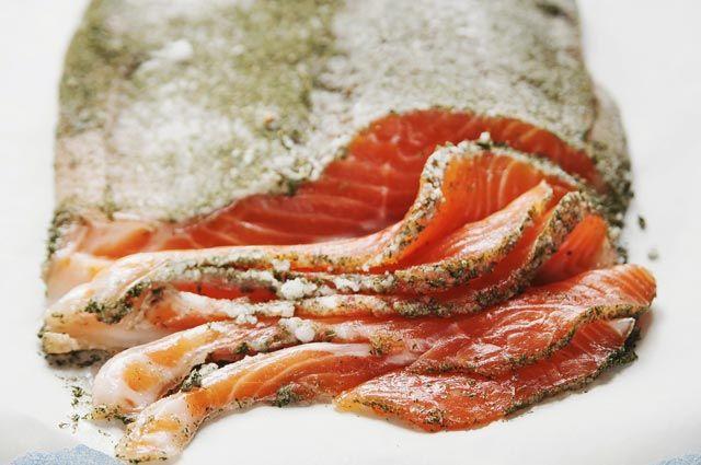 Гравлакс — так сегодня называют соленый лосось в Скандинавии.