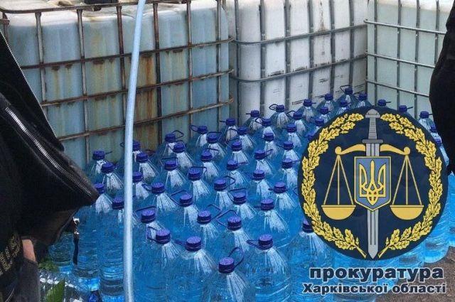 В Харьковской области выявили два подпольных цеха по производству алкоголя