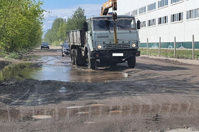 Дороге на улице Прижелезнодорожной уже давно требовался капитальный ремонт.