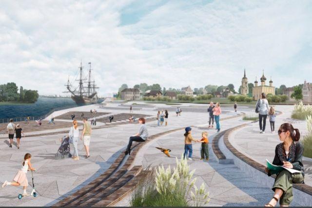 Концепция развития Петровской набережной.