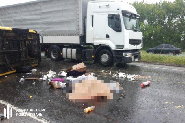 В Полтавской области произошло ДТП: погиб правоохранитель