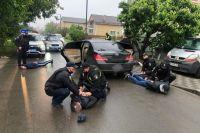 Под Киевом со стрельбой конфликтовали легальные и нелегальные перевозчики