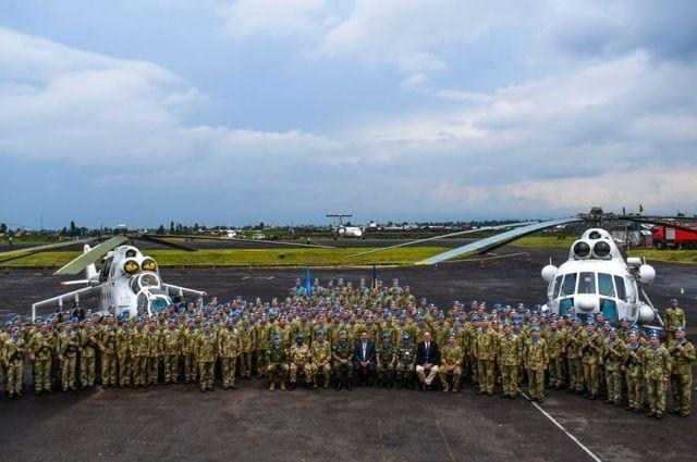 Почти 300 военнослужащих ВСУ участвуют в миротворческих миссиях и операциях