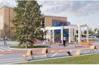 В общественном пространстве «Бульвар Науки» (Гатчине) появилась просторная пешеходная зона с беговыми и велосипедными дорожками, высажены деревья и кустарники, установлены новые опоры освещения, детское игровое оборудование, скамейки и урны.